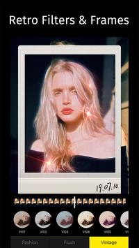 Años 90 - Glitch & Vaporwave Video Effects Editor captura de pantalla 4