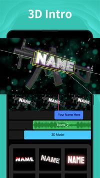 Intro Maker تصوير الشاشة 2