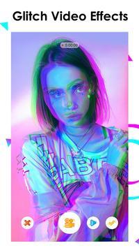 Efecto editor de video, glitch video mágico - MAGE Poster