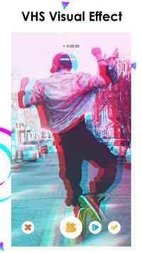 Efecto editor de video, glitch video mágico - MAGE captura de pantalla 1