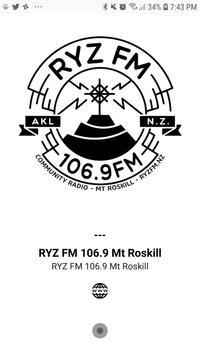 RYZ FM 106.9 Mt Roskill screenshot 3