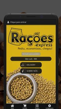Rações Express poster