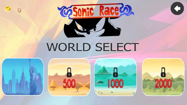 Sonic Super Race screenshot 2