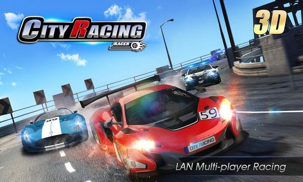 City Racing 3D الملصق