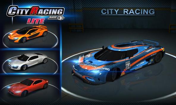 City Racing Lite captura de pantalla 4