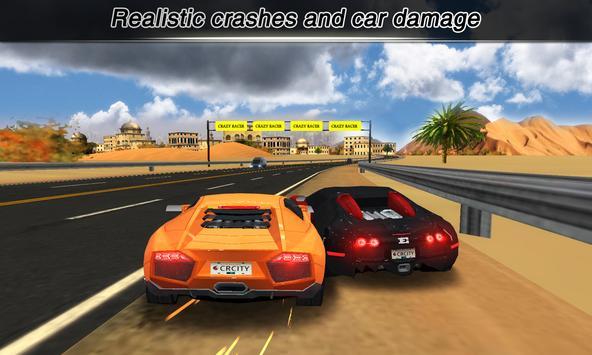 City Racing Lite captura de pantalla 2