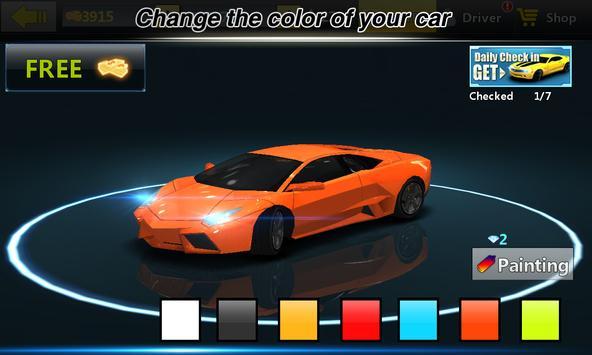 City Racing Lite captura de pantalla 3