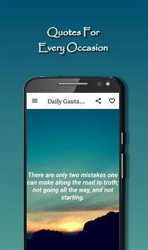 Daily Gautama Buddha Quotes Ekran Görüntüsü 5