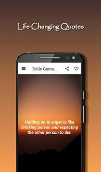 Daily Gautama Buddha Quotes Ekran Görüntüsü 6