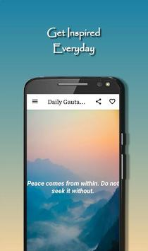 Daily Gautama Buddha Quotes スクリーンショット 7