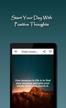 Daily Gautama Buddha Quotes Ekran Görüntüsü 9
