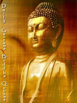Daily Gautama Buddha Quotes ポスター