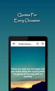 Daily Gautama Buddha Quotes スクリーンショット 13