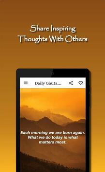 Daily Gautama Buddha Quotes Ekran Görüntüsü 11