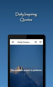 Daily Gautama Buddha Quotes Ekran Görüntüsü 12