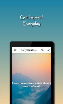 Daily Gautama Buddha Quotes スクリーンショット 15