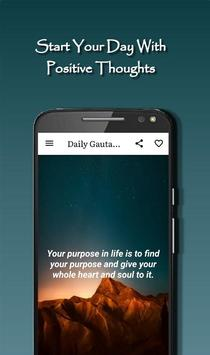 Daily Gautama Buddha Quotes Ekran Görüntüsü 1