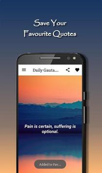 Daily Gautama Buddha Quotes Ekran Görüntüsü 2