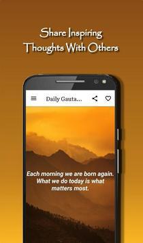 Daily Gautama Buddha Quotes Ekran Görüntüsü 3