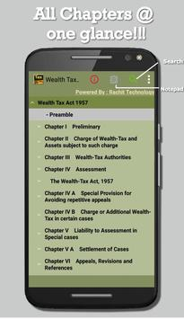 Wealth Tax Act 1957 poster