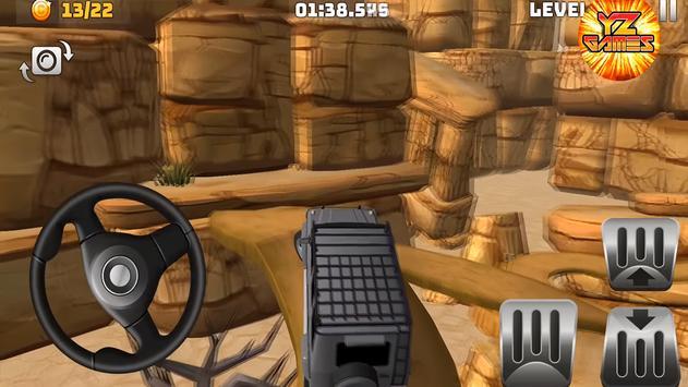 Master Car climb Racing 3D: Stunt 4x4 Offroad स्क्रीनशॉट 2