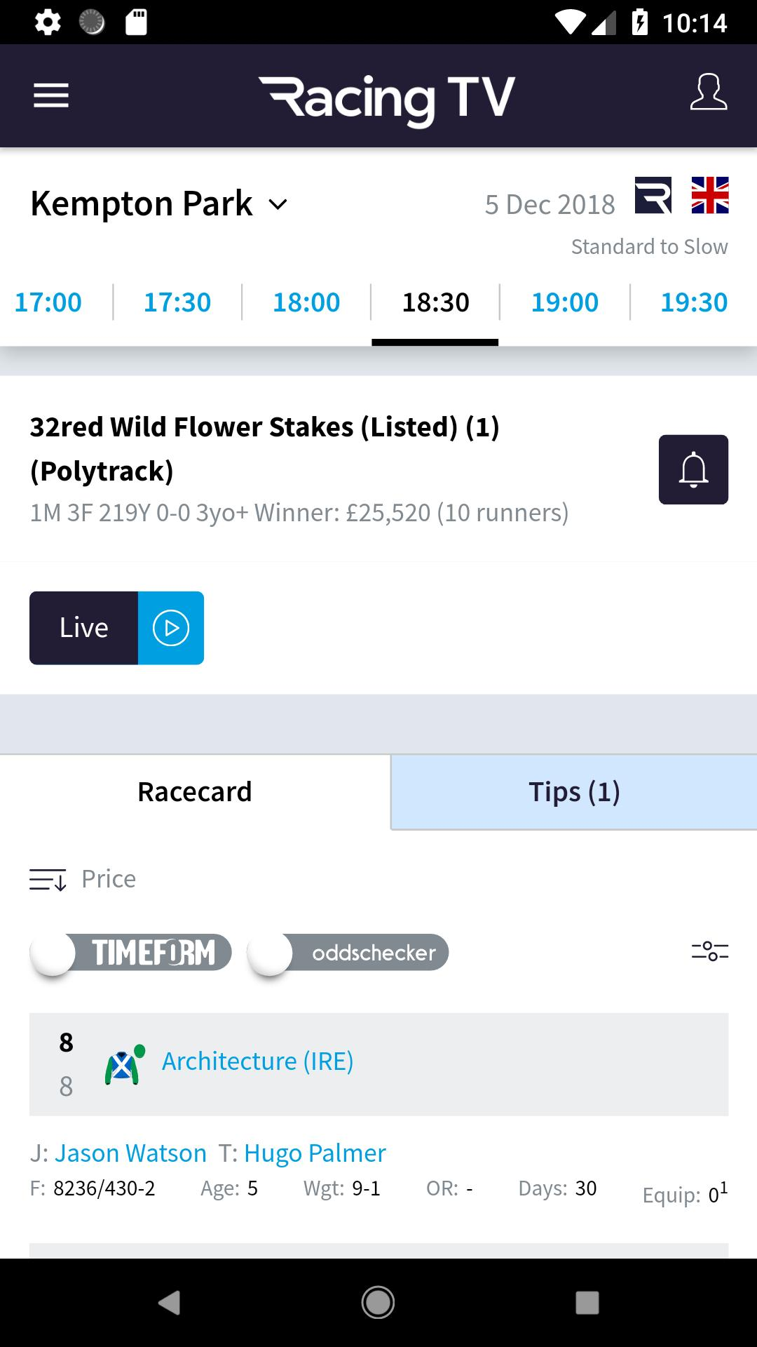 Racing TV – Live Horse Racing for Android - APK Download