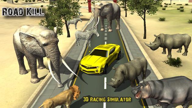 Road Kill 3D Racing poster