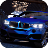 Driving Game BMW x6M - Racing in Car 2019 icon