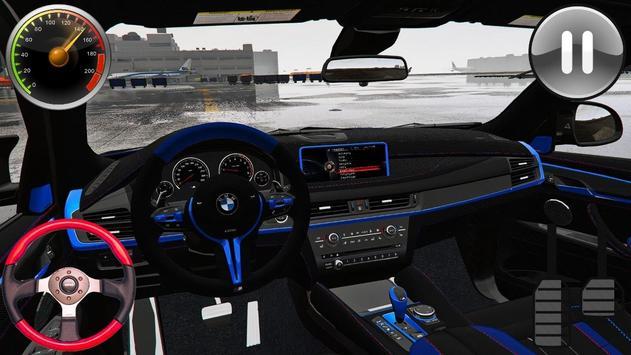 Driving Game BMW x6M - Racing in Car 2019 screenshot 8