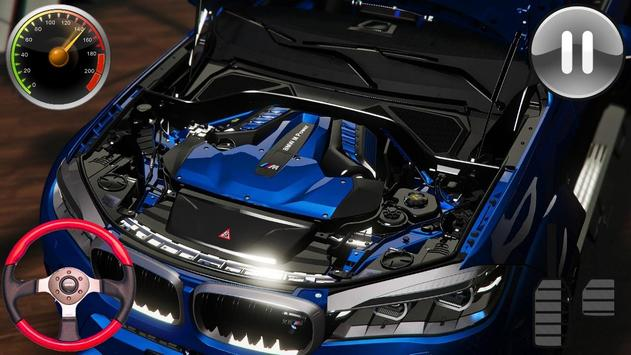 Driving Game BMW x6M - Racing in Car 2019 screenshot 10
