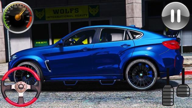 Driving Game BMW x6M - Racing in Car 2019 screenshot 3