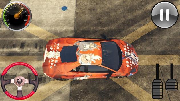 Racing Lamborghini Reventon - Driving School 2019 screenshot 1