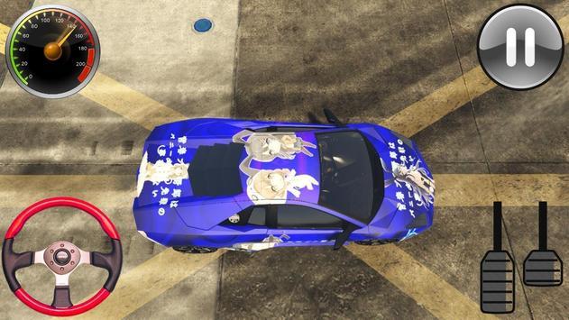 Racing Lamborghini Reventon - Driving School 2019 screenshot 2