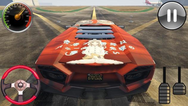 Racing Lamborghini Reventon - Driving School 2019 screenshot 6
