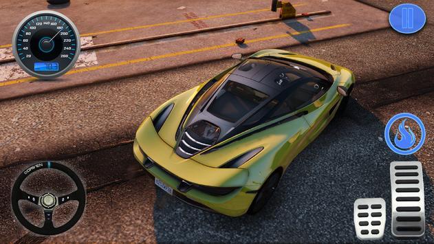 Racing in Car - Simulator Games McLaren screenshot 3