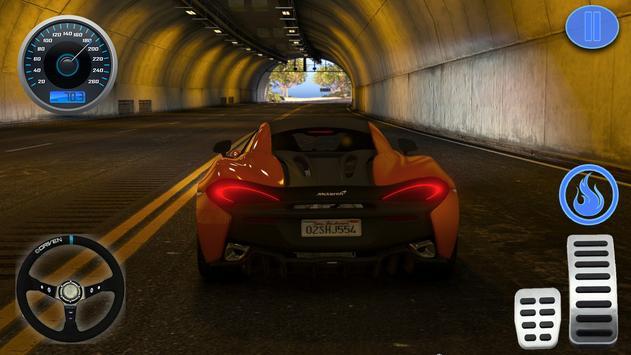 Racing in Car - Simulator Games McLaren screenshot 1