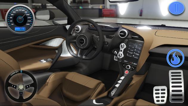Racing in Car - Simulator Games McLaren screenshot 5