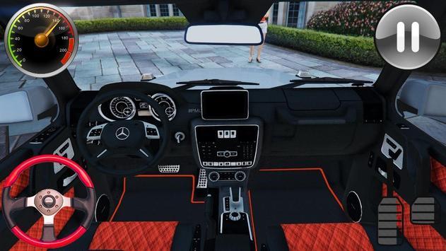 Driving Games Gelenvagen G65 2019 screenshot 8