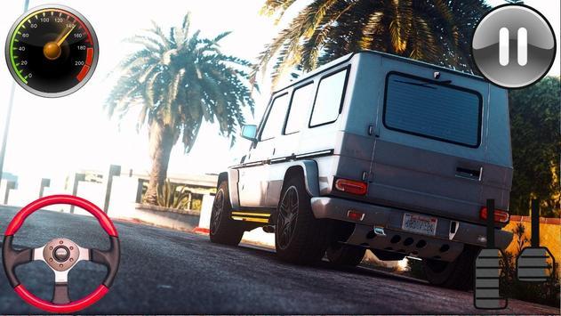 Driving Games Gelenvagen G65 2019 screenshot 3