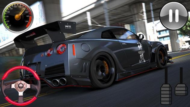 Racing Simulator - Nissan GTR 2019 screenshot 1