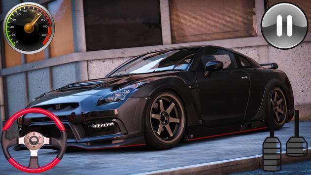 Racing Simulator - Nissan GTR 2019 screenshot 6