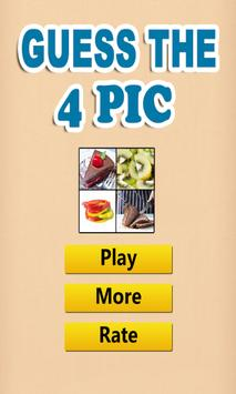 Guess The 4 Pic poster