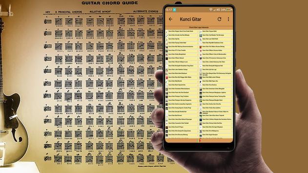 Kunci Gitar Lengkap Lagu Indonesia Full Offline screenshot 4