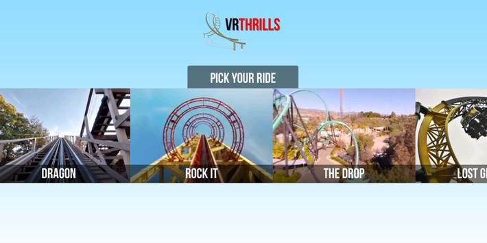 VR Thrills الملصق