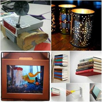 DIY Recycled Craft Ideas screenshot 1