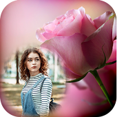 Red Rose Photo Frame icon