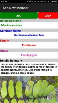 Classification of Plants and Fungi screenshot 1