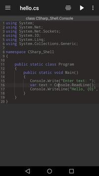 C# Shell (C# Offline Compiler) poster