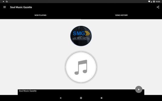 Soul Music Gazette Radio screenshot 2