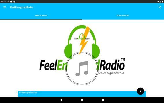 Feel Energized Radio screenshot 2